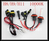 Brand new Hid Xenon Conversion Kit 35W 12V DC Ballast H8/H9/H11 Bulbs 10000k color temp US STOCK USPS shipping