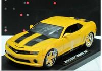 Jada 1 . 18 2010 chevy camaro ss CHEVROLET bumblebee alloy model