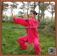 Free shipping martial arts style cotton kung fu tai chi uniform