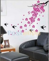 Sticker personalized fashion cartoon wall stickers fashion flower