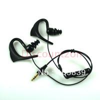 in-ear Earhook Waterproof earphone/headphone for Original Speedo Aquabeat MP3 Player 3.5mm plug free shipping