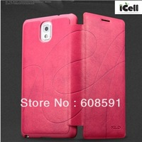 Brand Kalaideng Oscar II Series Flip PU Leather case For Samsung Galaxy Note3 N9000 ,+retail package MOQ:1PCS free shipping