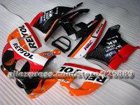 7 Gifts+Orange White Repsol full Fairing for CBR900RR 893 92-95 893RR CBR893 RR 92 93 94 95 1992 1993 1994 1995  fairing kit