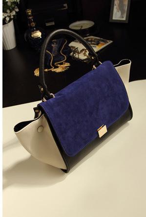 Celebrity Wholesale 2013 New Fashion Vintage Europen C Line Bat Bag Women Nubuck Leather Brand Designer Phantom Trapeze Handbags(China (Mainland))