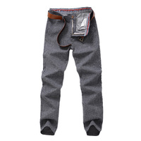 Hot Sale 2013 New Fashion Men Stylish Straight Slim Fit Trousers Casual Pants GMF-67254