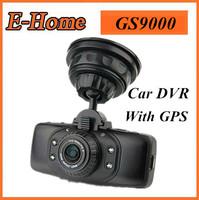 100% Original GS9000 GPS Ambarella A2 Car DVR full hd 1920*1080P 178 Degree 2.7'' LCD+H.264+G-Sensor+ HDMI Camera video recorder