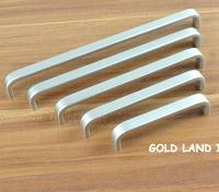 96mm nickel color Free shipping aluminum alloy furniture handle door handle drawer handle