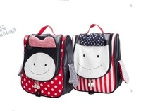 Free ship New cartoon baby nursery children backpack shoulder bag Anti-lost elementary school bag