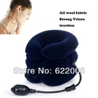 free shipping,Cervical traction apparatus, household, medical, inflatable cervical spine, neck collar, neck, massager