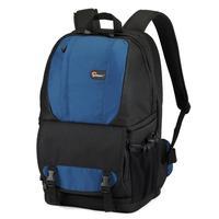 "Genuine Lowepro Fastpack 250 DSLR Camera Photo 15"" Laptop Bag Backpack Rucksack for Canon Nikon Waterproof + Rain Cover Blue"