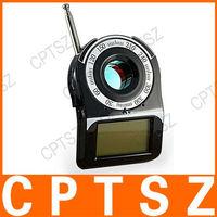 "CC309 1.6"" Screen Anti-Spy Laser Wireless Signal Detector - Black"