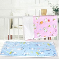 High Quality/Cheapest/Colorful Baby Cotton Waterproof Urine Pad/Infant Changing Mat/ Baby Infant Home Travel Cotton Urine Mat