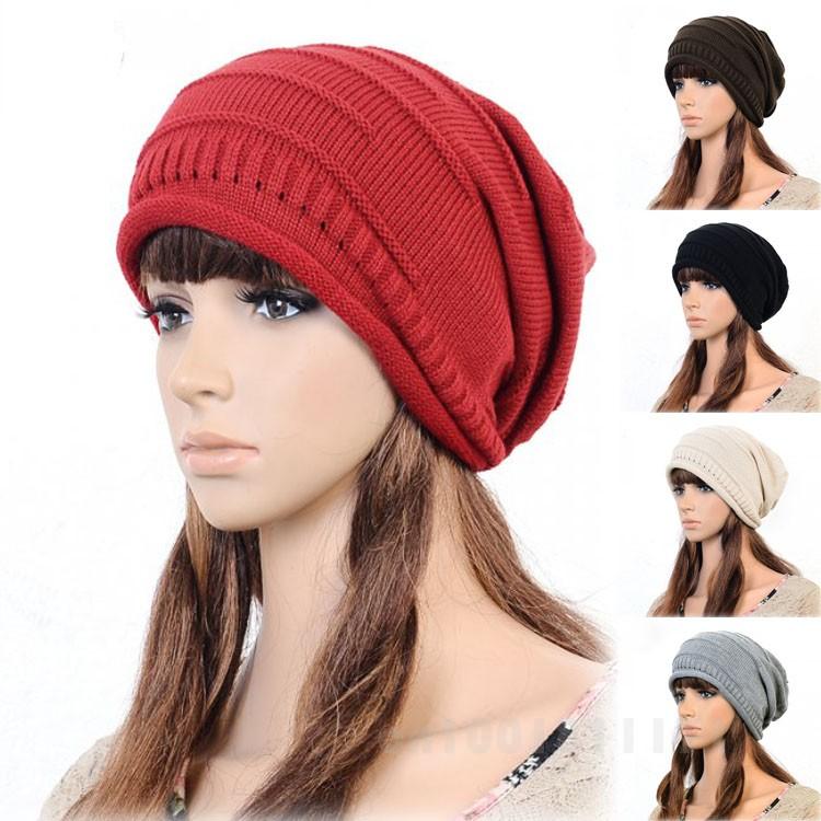 HOT KOREAN VERSION OF POPULAR FOLDING CAP WINTER HAT FASHIONABLE MEN AND WOMEN KNITTING WOOL CAP HT-00308(China (Mainland))