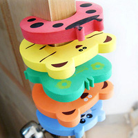 Free Shipping Baby Animal Cartoon Jammers Stop Door stopper holder lock Safety Guard Finger Protect