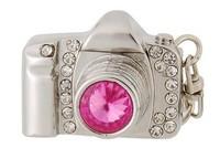 New 2014 1pc/lot fashion mini usb flash pendrive camera crystal cute pen drives cameras 32gb car/thumb other computer products
