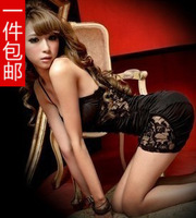 Sexy women's 2013 summer spaghetti strap lace tight hip slim one-piece dress basic skirt clairvoyant outfit