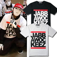 HOT sale free shipping 2014 male/ women's Tops jabbawockeez mask HIP HOP / R&B short-sleeve T shirt cheap price popular t shirt
