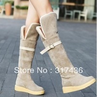 Free shipping!2013 best selling  ladies  over the knee boots  winter  snow boots for  women knee-high martain boots