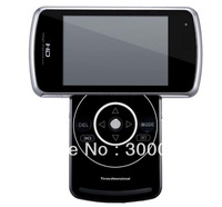 Hot seling supper slim 3D digital video camera with 8 MP and 3.2 inch LCD, in stock ,can do dropship