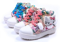 2013 new design children cartoon canvas sneakers/ child fashion sneakers