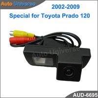 High Quality HCCD Rearview Camera for  Toyota Prado 120 2002-2009 RearView camera 170 Degree Lens Angle Night Vision waterproof