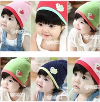 Cute Candy Color Babies'/ Kids' Cotton Beanie/ Hat/ Cap