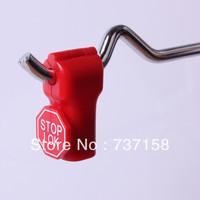 Red Stop Locks for Stem Type Hooks in Shelves Shop