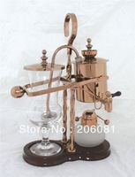 Luxury Rose Gold Balancing roayl syphon coffee maker/Siphon coffee maker /Tea pot with top quality ,perfect chrsitmas gift