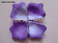 10 packs(1440pcs) Light lavender PET-LLA  Non-woven fabric  Artificial Rose Flower Petal Wedding party Decor hot selling