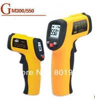 100pcs/lot GM550 IR infrared thermometer temperature measurement module non-contact electronic thermometer, 550 degrees