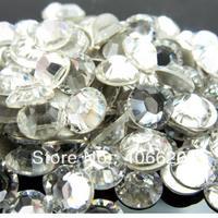 SUPER SHINY 2028 Crystal/Clear Flat Back Crystal Stones Nail Art Non Hotfix Rhinestones.SS4 SS5 SS6 SS8 SS10 SS12 SS16 SS20 SS30