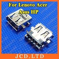 For Lenovo Acer Asus HP Laptop USB Jack,Copper down,H:3.5mm