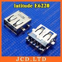 For DELL latitude E6220 Laptop USB Jack,Copper down,H:3.5mm