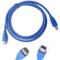Freeshipping! 500pcs/loNew USB 3.0 Male to Female Extension Extender Cable 6ft 1.5m