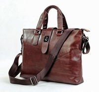 Male handbag messenger bag cowhide 7139c