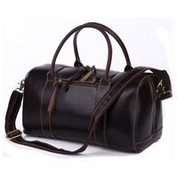 2013 travel bag quality cowhide handbag 7165q