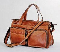 Quality leather big bag luggage handbag travel bags 7138b