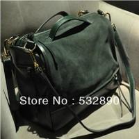 Designer fashion shoulder bags leather bag portable inclined bag handbags for women free shipping