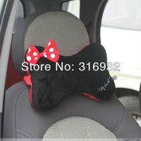 u1 wholesale cute mickey Minnie pillow car headrest auto neck pillow