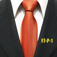 Fashion Mens Popular Neckties For Men Solid Brown Business Formal Ties For Men Gravatas F7-P-1