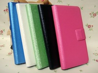 Flip Stand Leather Case Cover For Lenovo A820 A820T quad core MTK6589 mobile phone Free Drop Shipping