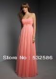 Free shipping  Chiffon  Sweetheart discount evening dress you fully deserve to enjoy it