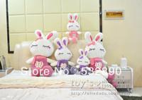 Free shipping LENGTH 1M 3colors rabit Wedding birthday gift wedding gifts stuffed toys Plush and Stuffed Toy