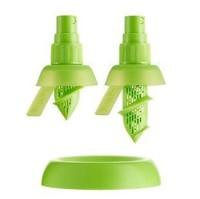 Free shipping 5 sets/lot,Lemon sprayer fruit spray tool juice juicer fruit squeezer kitchen tools 100%BPA creative gifts