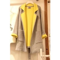 2013 autumn and winter wool coat woolen women's outerwear woolen outerwear
