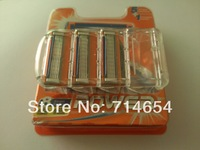 Free Shipping(16pieces/lot) FP 8S Hot sell Men's Razor Blades High Quality Blade,Standard for US&RU&Euro