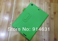 Free Shipping 100pcs  Litchi Leather Stand Flip Case Cover For Ipad 5 ipad5 Protective Skin For New Ipad Air Wholesale