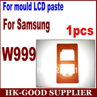 1pcs new coming hight quality LCD mould  For samsung W999  glass paste mould YL4121