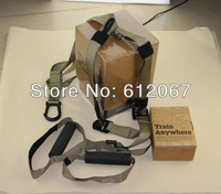 DHL:T3+Brown band+Fitness rope+hardcover+Force Tactical T3+Military+with DVD+with logo+Gymnastics+force kit t3