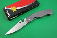 Oem Spyderco C36 Paratrooper Import titanium alloy C36 folding knife S30V Blade Hunting Knives Camping Knife Free shipping
